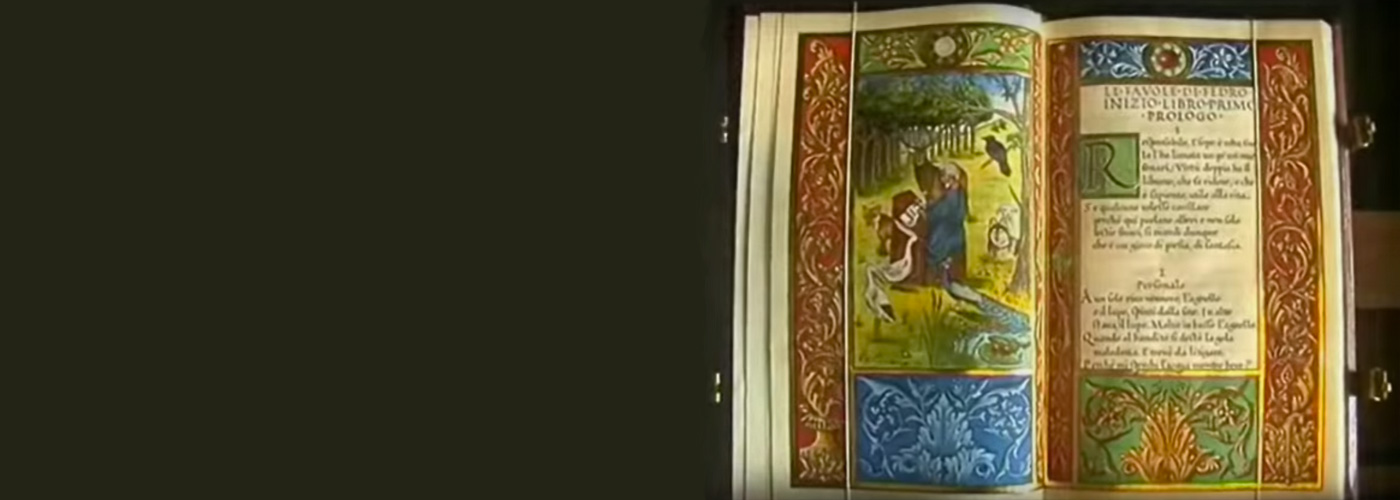 Behold the illuminated manuscript
